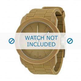 Diesel bracelet de montre DZ1532 Silicone Beige 24mm