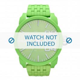 Diesel bracelet de montre DZ1574 Plastique Vert 28mm