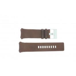 Bracelet de montre Diesel DZ3037 Cuir Brun 32mm