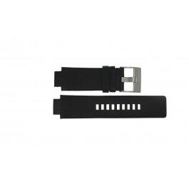 Bracelet de montre Diesel DZ4146 Cuir Noir 16mm