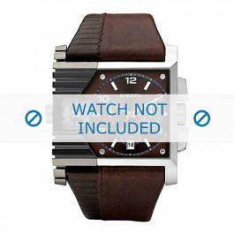 Diesel bracelet de montre DZ4186 Cuir Brun 36mm + coutures brunes