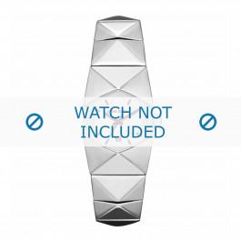 Diesel bracelet de montre DZ5326 Acier inoxydable Argent 19mm