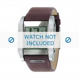 Diesel bracelet de montre DZ7078  Cuir Brun 27mm