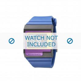 Diesel bracelet de montre DZ7151 Silicone Bleu 23mm