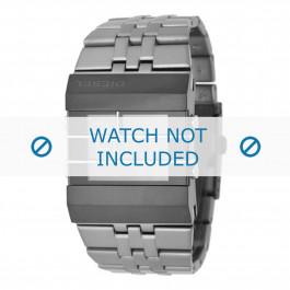 Diesel bracelet de montre DZ7227 Acier inoxydable Gris 36mm
