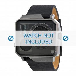 Diesel bracelet de montre DZ7241 Cuir Noir 28mm