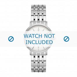 DKNY bracelet de montre NY2502 Métal Argent 18mm