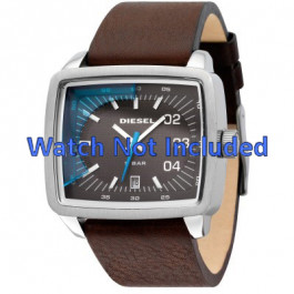 Diesel bracelet de montre DZ1334 Cuir Brun 29mm