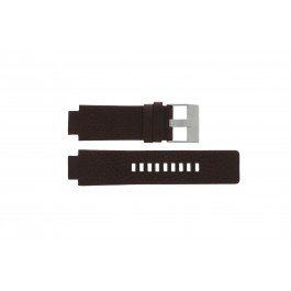 Bracelet de montre Diesel DZ1123 Cuir Brun 18mm