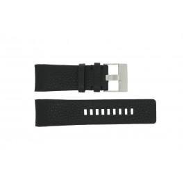 Bracelet de montre Diesel DZ4031 / DZ4032 / DZ4028 Cuir Noir 29mm