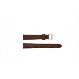 Bracelet de montre Universel E360 Cuir Brun 16mm