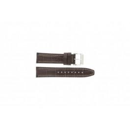 Bracelet de montre Festina F16081/8 Cuir Brun 22mm