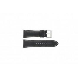 Bracelet de montre Festina F16235-6 / F16235-F Cuir Noir 28mm