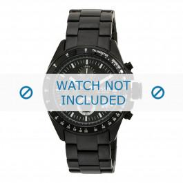 Bracelet de montre Fossil CH2601 Acier Noir 22mm