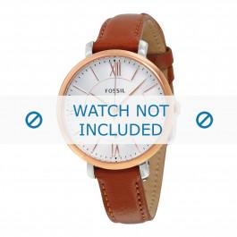 Bracelet de montre Fossil ES3842 Cuir Brun 14mm