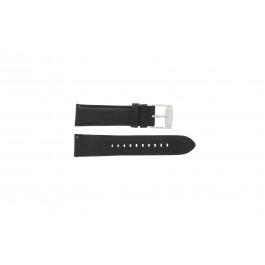Bracelet de montre Fossil FS4745 Cuir Noir 22mm