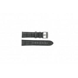 Bracelet de montre Fossil FS4766 Cuir Gris 22mm