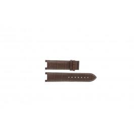 Bracelet de montre Guess GC31000G1 / GC31000G / X44001G1 / I45003G1 Cuir Brun 12mm
