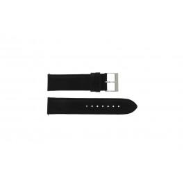 Bracelet de montre Guess W10562G3 Cuir Noir 22mm