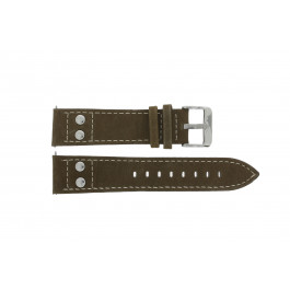 Bracelet de montre H820 Cuir Brun 22mm