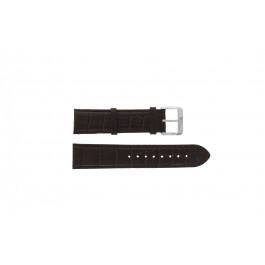 Hugo Boss Bracelet de montre  HB1512636 / HB659302334 en cuir brun