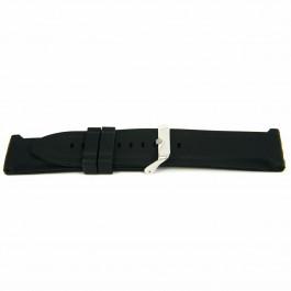 Bracelet de montre Universel XJ15 Silicone Noir 26mm