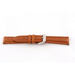 Bracelet de montre Universel H385 Cuir Cognac 22mm