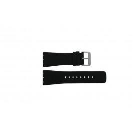 Bracelet de montre Danish Design IV13Q729 Cuir Noir 28mm