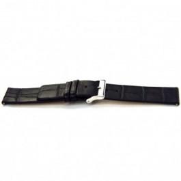 Bracelet de montre Universel F145 Cuir Noir 18mm