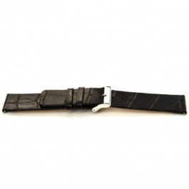 Bracelet de montre Universel I350 Cuir Brun 24mm