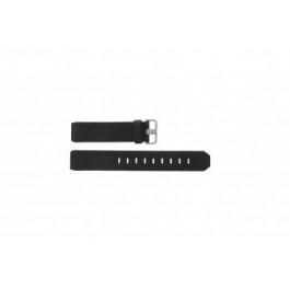 Bracelet de montre Jacob Jensen 600 / 800 / 890 Cuir Noir 17mm