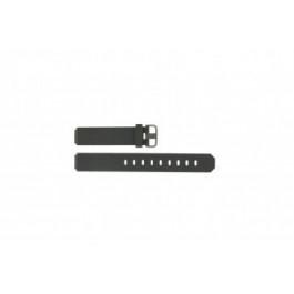Jacob Jensen bracelet de montre 700 serie  En caoutchouc Gris foncé 17mm
