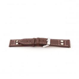 Bracelet de montre Universel G365 Cuir Brun 20mm