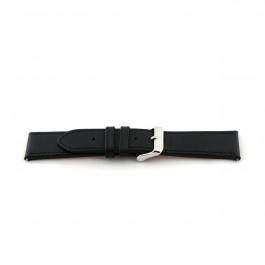 Bracelet de montre Universel H010-XL Cuir Noir 22mm