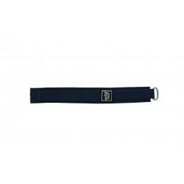 Bracelet de montre Universel 5883-06-20 Velcro Bleu 20mm