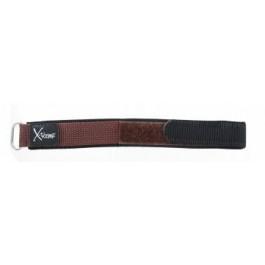Bracelet de montre Condor KLITTENBAND 412R Velcro Brun foncé 20mm