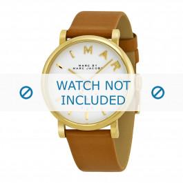 Bracelet de montre Marc by Marc Jacobs MBM1316 Cuir Cognac 18mm