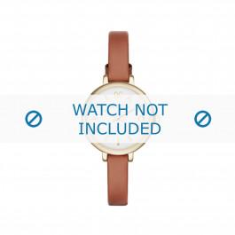 Bracelet de montre Marc by Marc Jacobs MBM1351 Cuir Brun clair 8mm