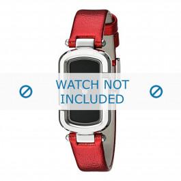 Bracelet de montre Marc by Marc Jacobs MJ1499 Cuir Rouge 12mm