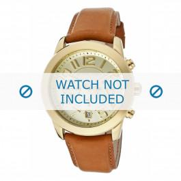 Bracelet de montre Michael Kors MK2251 Cuir Cognac 22mm