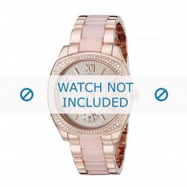 Michael Kors bracelet de montre MK6135 Métal Rose 20mm