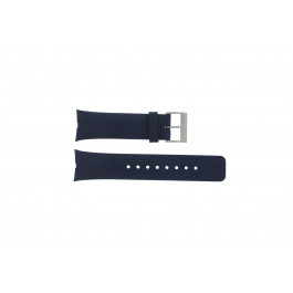Nautica bracelet de montre A23002G En caoutchouc Bleu 28mm