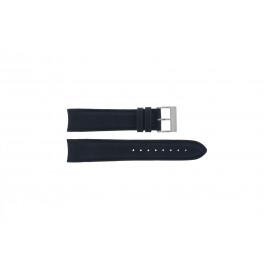 Nautica bracelet de montre A24513G En caoutchouc Bleu 22mm