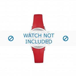 Nautica bracelet de montre N13536L  Plastique Rouge