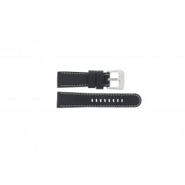 Bracelet de montre Danish Design IQ13Q712 Cuir Noir 20mm