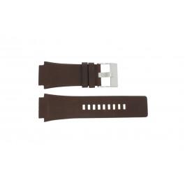 Bracelet de montre Diesel DZ1132 Cuir Brun 25mm