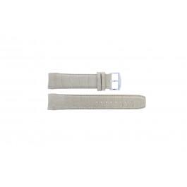Bracelet de montre Zodiac ZO2702 Cuir croco Beige 22mm