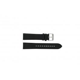 Bracelet de montre Pulsar YM62-X225 Cuir Noir 20mm