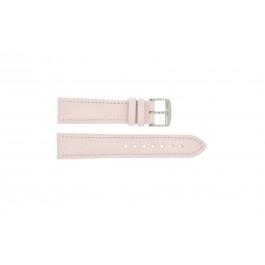 Bracelet de montre Universel 283R.14 Cuir Rose 20mm