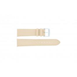 Bracelet de montre Universel 283.26 Cuir Brun 24mm
